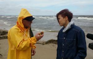Koreańczycy interesują się skarbami Wyspy Sobieszewskiej