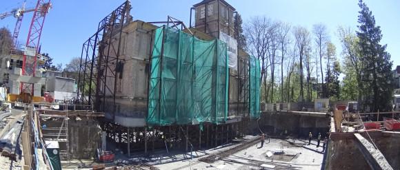 """Pałacyk w Sopocie """"zawisł w powietrzu"""""""