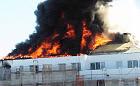 Palił się powstający budynek w Wiczlinie
