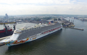Największy wycieczkowiec, jaki kiedykolwiek odwiedził polski port