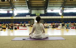 Duże zainteresowanie festiwalem jogi