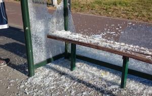 Zatrzymano wandali, którzy rozbili wiaty na Przymorzu