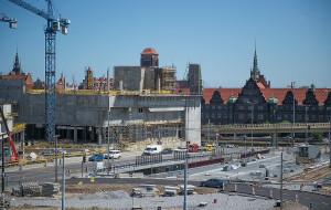 Korki wokół Forum Gdańsk potrwają  co najmniej do jesieni
