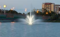 Nowa fontanna zachwyca, ale nie nocą