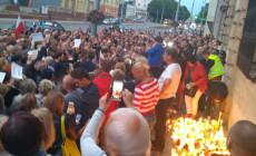 Protest przeciwko zmianom w sądownictwie