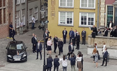 We wtorek para książęca odwiedziła Gdańsk