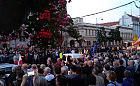 Protesty w obronie Sądu Najwyższego w Gdańsku i  Gdyni