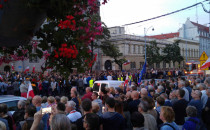 Protesty w obronie Sądu Najwyższego w...