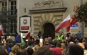 Kolejne protesty przed sądami w Trójmieście