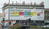 Nielegalna miejska reklama w centrum Wrzeszcza