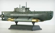 Michał i jego modele niemieckich i rosyjskich okrętów