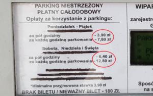 Drogie parkowanie przy ul. Lawendowej. Nawet 12 zł za godzinę