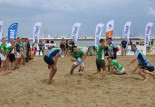 Festiwal rugby na plaży w Sopocie