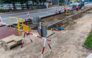 Gdynia: Remont chodników i nawierzchni ul. Łużyckiej