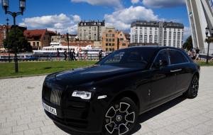 Rolls-Royce Ghost: 5,5 metra luksusu