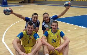 Wspólna  prezentacja  piłki ręcznej w Gdyni
