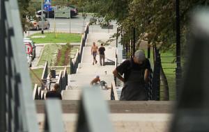 Nowe schody z Siedlec na Suchanino