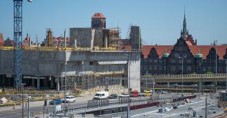 Zatrucie pokarmowe na budowie Forum Gdańsk