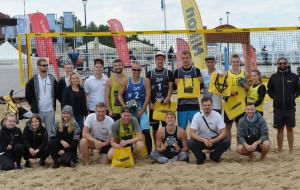 Koniec sezonu siatkarskiego na gdańskiej plaży