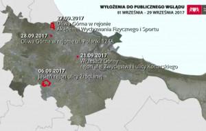 Gdańsk. We wrześniu wyłożono projekty nowych planów miejscowych: Oliwa, Wrzeszcz i Jasień