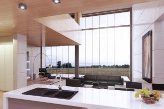 Szklane domy. Powierzchnie, które zmieniają oblicze wnętrza