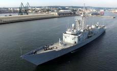 Polskie okręty wyszły z portu na manewry