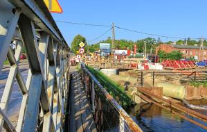Opóźnienie przy budowie mostu nad Kanałem Raduni