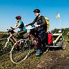 Rodzinnie rowerem przez Żuławy