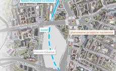 Droga w tunelu może odciążyć centrum Gdańska