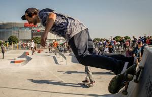 Zawody na otwarcie zmodernizowanego skateparku