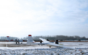 Zimowe loty nad Trójmiastem