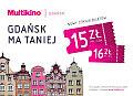 Nowy cennik w Multikinie Gdańsk