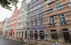 Nowe fasady zmieniają Główne Miasto