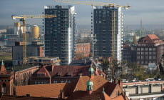 Zmienia się krajobraz przy ul. Wałowej w Gdańsku