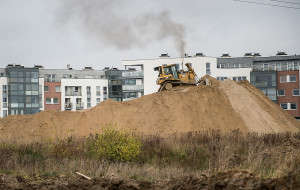 Prace ziemne niepokoją mieszkańców osiedli wzdłuż ul. Myśliwskiej