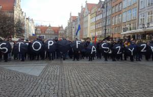 W Gdańsku manifestowali przeciw faszyzmowi