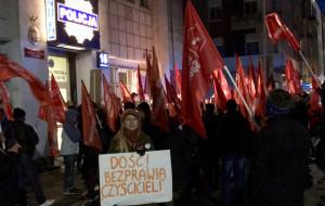 """Pikieta w obronie mieszkańców """"Pekinu"""""""