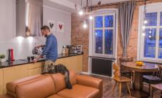 Trójmiejskie wnętrza: niebanalne mieszkanie w śródmieściu Gdańska