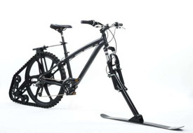 Ktrak, czyli rower śnieżny