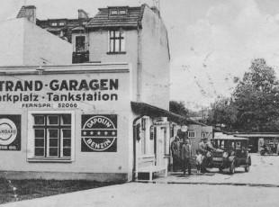 Stacje benzynowe w dawnym Gdańsku