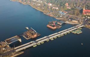 Most w Sobieszewie: budowa opóźniona o pół roku