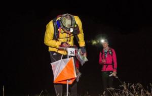 400 miłośników orientacji w terenie harcowało nocą po lesie