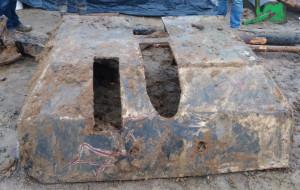 Znalezione przez robotników działko trafi do muzeum