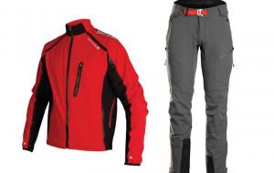 Kurtki i spodnie na zimową jazdę rowerem