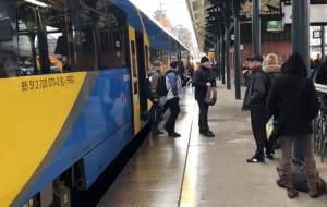 Testowy pociąg z Kaliningradu przywiózł 130 pasażerów