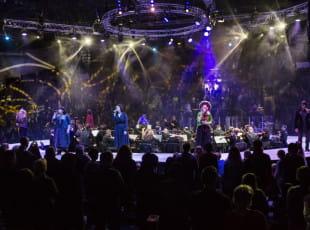 Kolędowanie i religijne pieśni w Gdynia Arenie