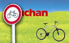 Powrót do domu z kupionym rowerem