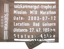 MTB Marathon, Bad Goisern (12.07.2003)