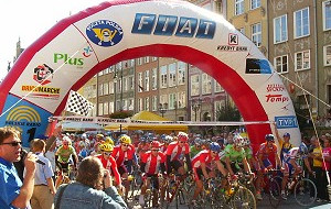 Tour de Pologne - start w Gdańsku