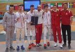 Adam Podralski podwójnym zwycięzcą zawodów Pucharu Europy U-17. Sukcesy florecistów UKS Atena Gdańsk